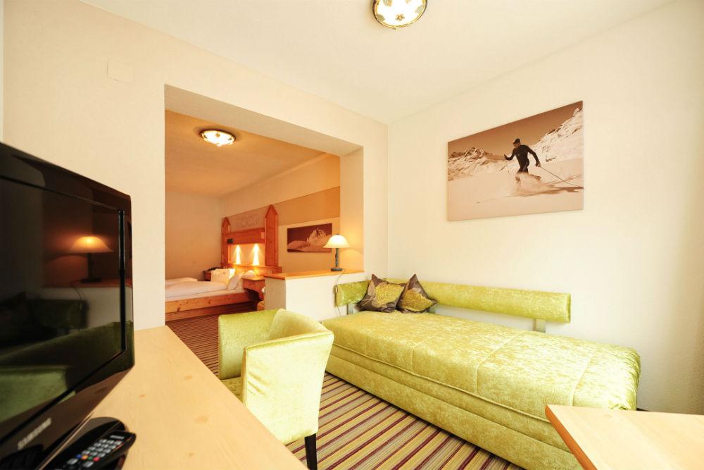 Ein Doppelzimmer A PLUS mit Balkon