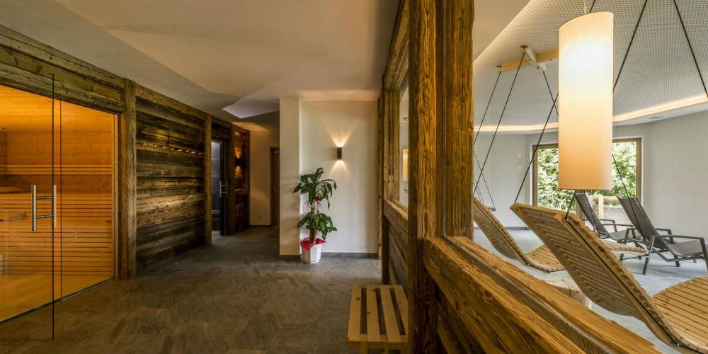 Der Wellnessbereich im Hotel Panorama