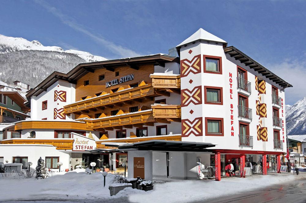 Außenansicht des stefan - alpine lifestyle
