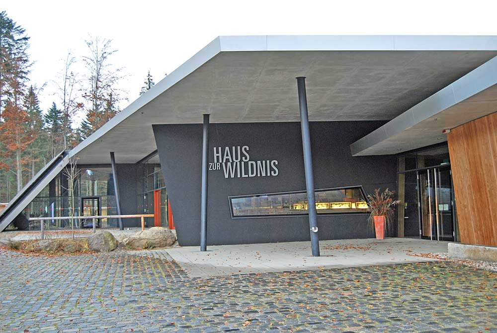 Haus zur Wildnis am Falkenstein Nationalparkcenter in Ludwigsthal