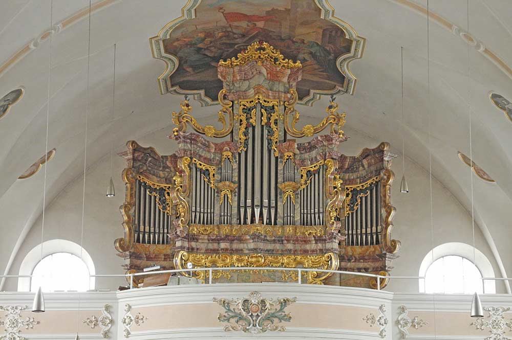 Orgel in Mariä Himmelfahrt in Furth im Wald