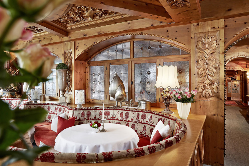 Restaurant im SPA-Hotel Jagdhof in Neustift im Stubaital