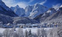 Blick auf Kranjska Gora © Photo collection Tourist Board Kranjska Gora