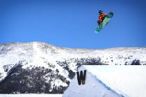 Jumps im Snowpark von Copper Mountain © Tripp Fay, Copper Mountain