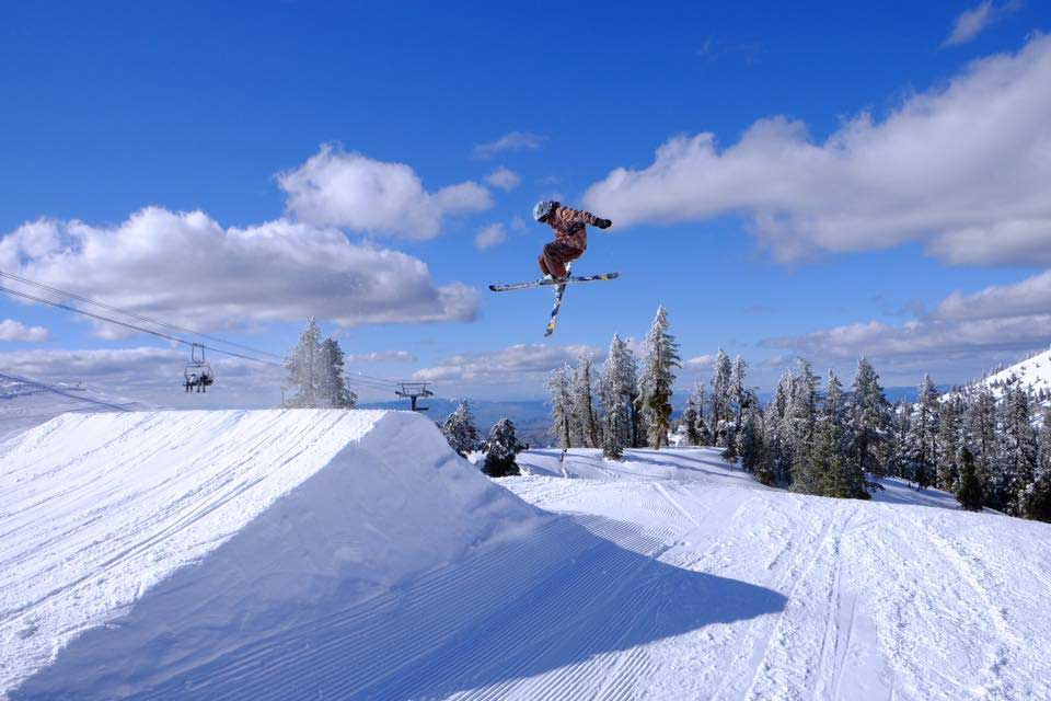 Snowpark in Bogus Basin