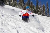Skiabfahrt in Lookout Pass © Lookout Pass Ski & Recreation Area