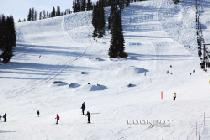 Snowpark in Lookout Pass © Lookout Pass Ski & Recreation Area