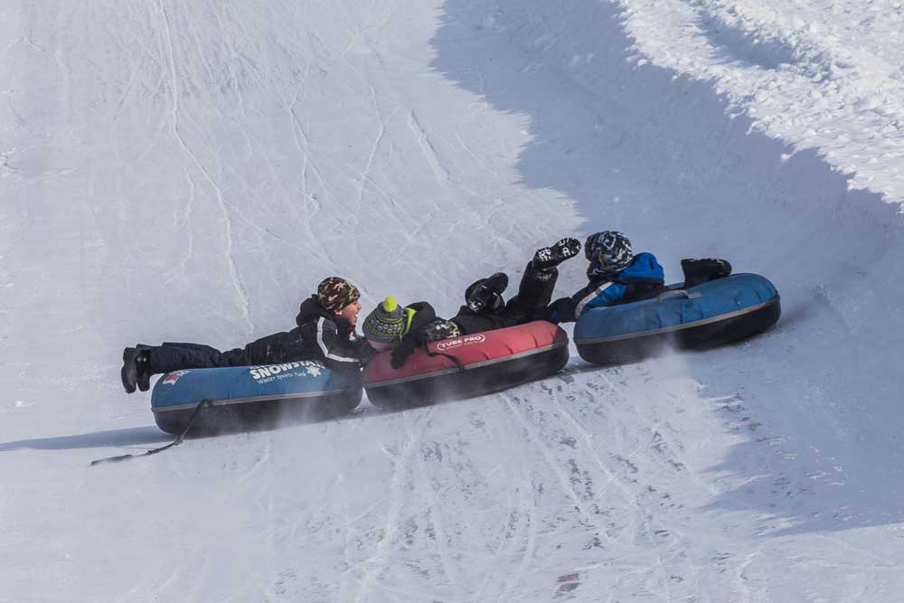 Tubing Hill in Ski Snowstar