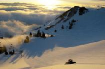Sonnenaufgang in Alpine Meadows © Squaw Valley Alpine Meadows, KeokiFlagg00117