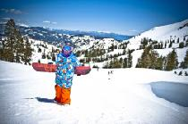 Snowboard für Kids in Alpine Meadows © Squaw Valley Alpine Meadows, Matt Palmer