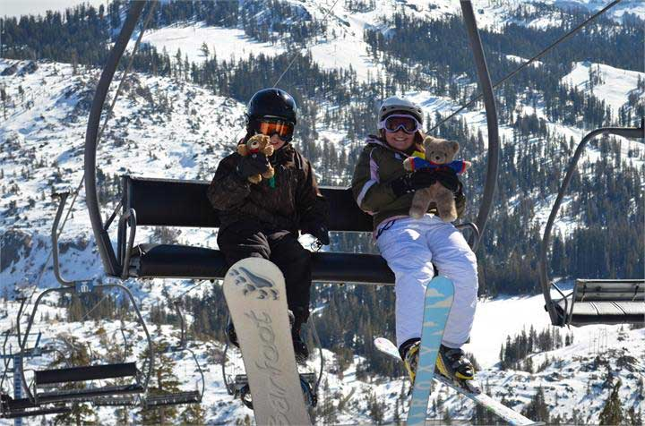 Kinder in Donner Ski Ranch