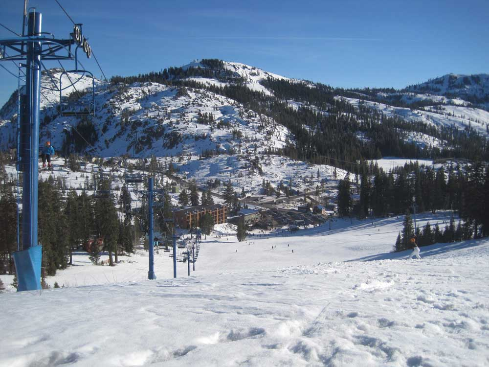 Donner Ski Ranch Trail Map on