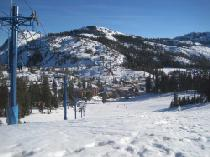 Blick ins Tal Donner Skio Ranch © Donner Ski Ranch