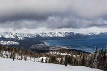 Blick auf den Lake Tahoe © Heavenly Mountain