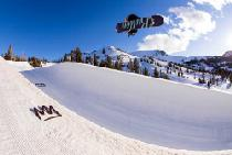 Spaß in der Halfpipe © Mammoth Mountain Ski Area