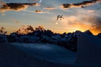 Jump im Terrain Park © Mammoth Mountain Ski Area