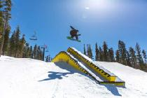 Sprünge im Snowpark © Northstar California Resort