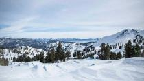 Blick auf den Terrain Park © Squaw Valley Alpine Meadows