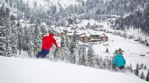 Blick ins Tal von Squaw Valley © Squaw Valley Alpine Meadows
