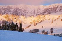 Das Skigebiet Bridger Bowl © Bridger Bowl Ski Area
