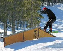 Rail im Snowpark © Red Lodge Mountain