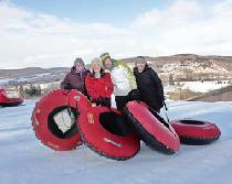 Snowtubing in Greek Peak © Greek Peak Mountain Resort