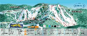 Pistenplan Seven Springs © Seven Springs Mountain Resort