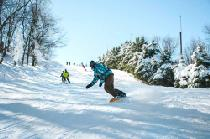 Snowboarder in Seven Springs © Seven Springs Mountain Resort