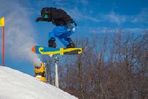 Jump mit dem Snowboard © Whitetail Resort