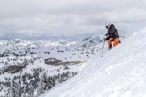 Tiefschneeabfahrt in Grand Targhee © Grand Targhee Resort, Powder Day Photography