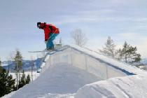 Übungen im Snowpark © Jackson Hole Mountain Resort