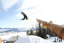 Jump im Snowpark © Jackson Hole Mountain Resort