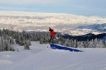 Snowpark mit Aussicht © Mission Ridge Ski & Board Resort