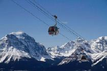 Die Gondel im Skigebiet © Lake Louise Ski Resort