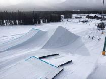 Der Snowpark im Skigebiet © Lake Louise Ski Resort