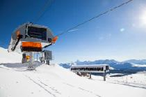 Station des Tee Pee Lifts im Skigebiet Sunshine Village © Sunshine Village