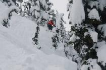 Extremsportler in Mount Baker © Mount Baker Ski Area