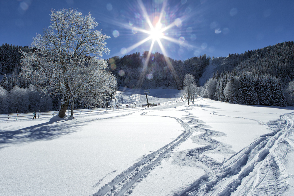 Winterlandschaft Bodental