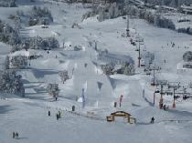 Snowpark in Chamrousse © Wise Ride