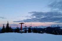 Abendstimmung im Sasquatch Mountain Resort © Sasquatch Mountain Resort
