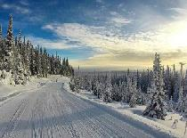 Breite Pisten im Skigebiet Hudson Bay Mountain © Hudson Bay Mountain