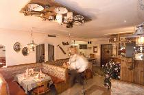 Das Restaurant in der Pension Seighof