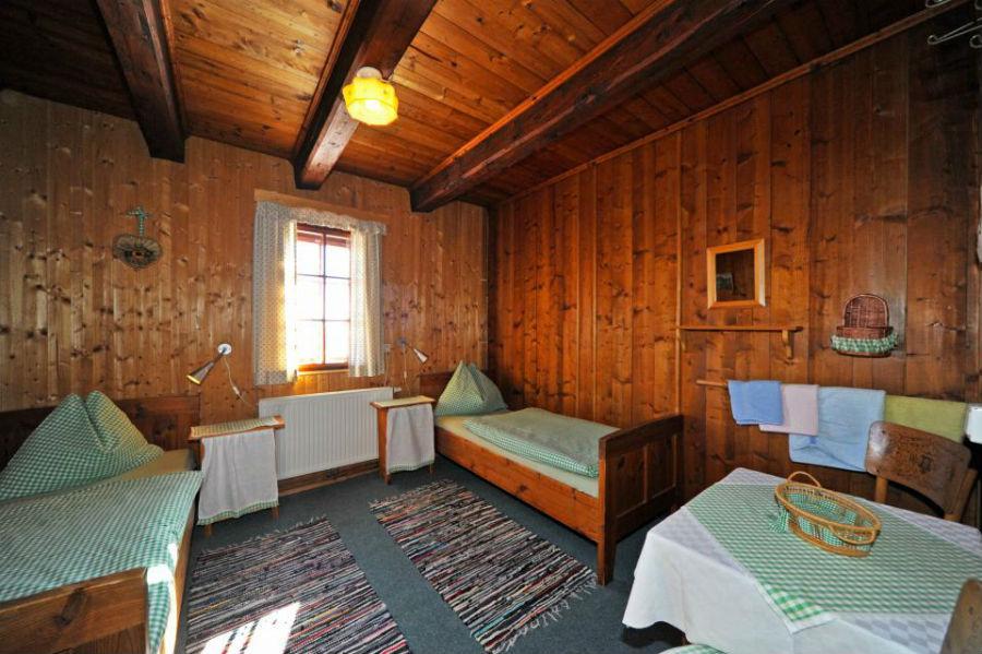 Zimmer in der gemütlichen Almhütte