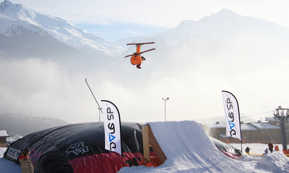 Big Air Jump in Aussois