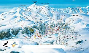 Pistenplan Besse Super Besse © Office du tourisme du Sancy