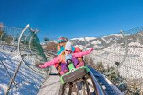 Der Alpine Coaster Lauser Sauser im Winter © Maiskogel Betriebs AG
