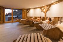 Wellnessbereich der Waldheim Alpine Appartements