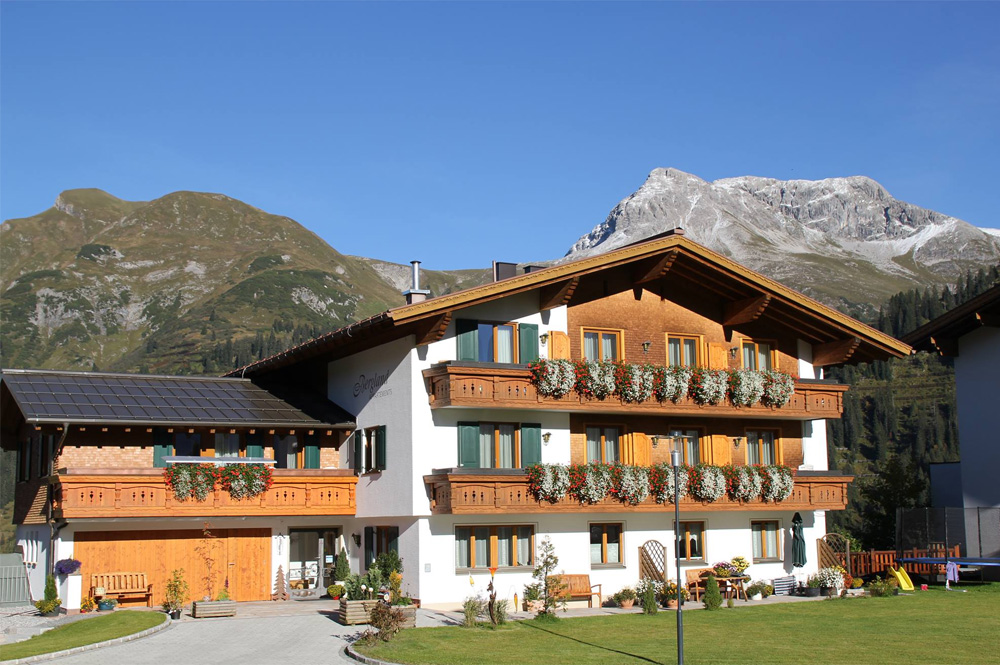 Bergland Appartements in Lech am Arlberg, Vorarlberg ...