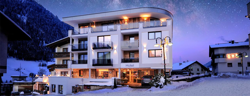Hotel Arnika in Ischgl im Winter