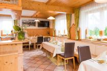 Das Restaurant im Hotel-Appartement Kristall in Tröpolach